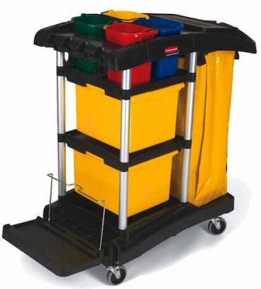 Rubbermaid Office Cleaning Trolley