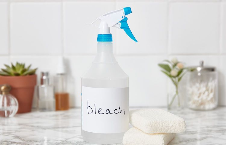 Using bleach to help kill coronavirus