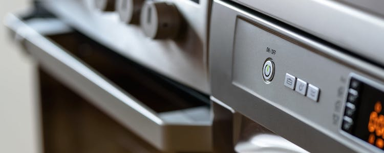 Image of the front of a cooker