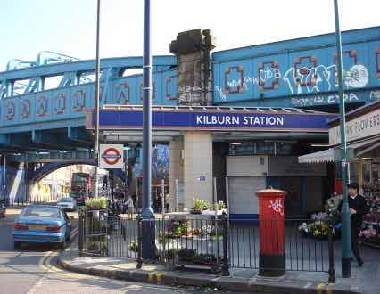 Kilburn Station - London