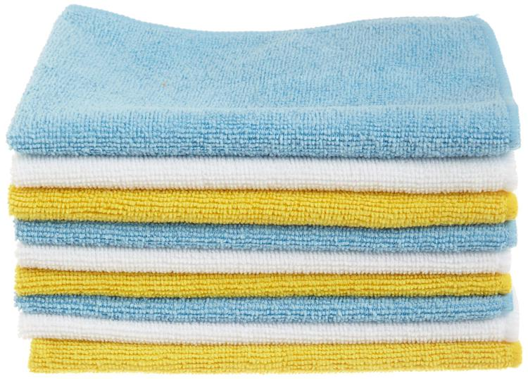 Microfiber cloths for cleaning