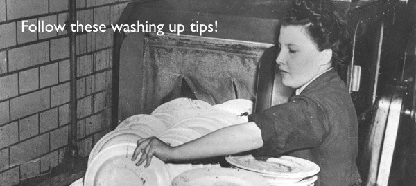 Washing up tips