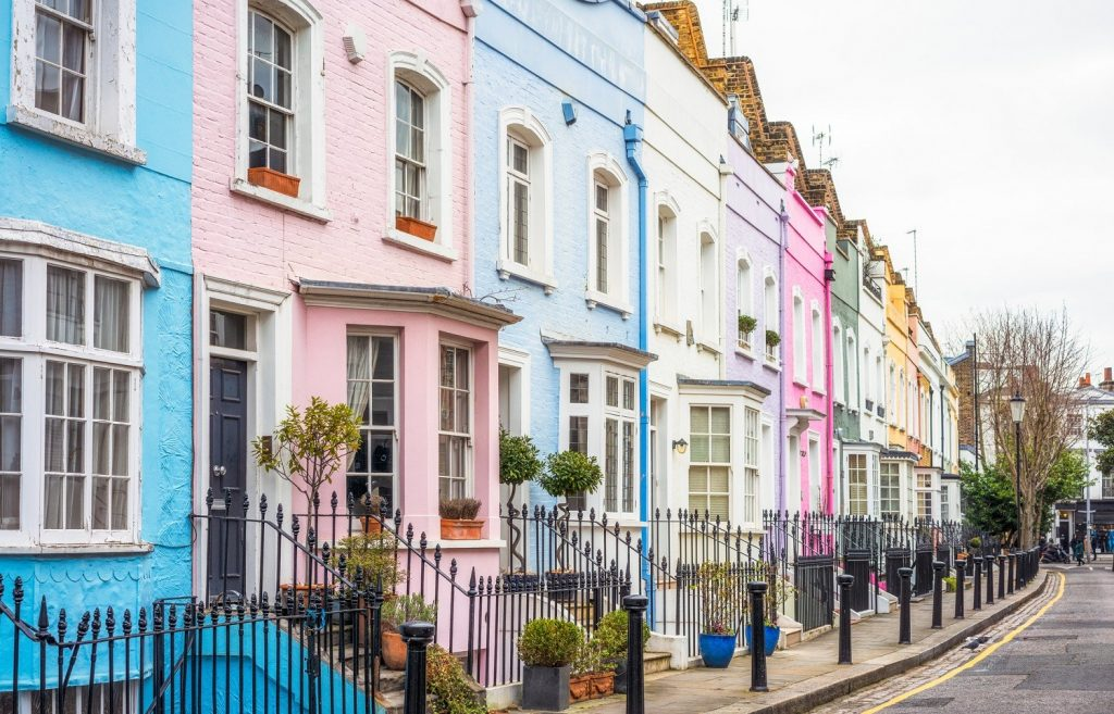 Colourful Houses - Cleaners in Kensington